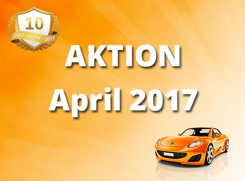 Unsere Aktion im April